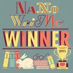 NaNoWriMo winner 2015